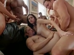 Wife Surprised With Black Gangbang