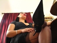 Older Fully Fashioned Nylons Feet