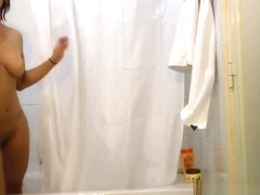 Ethnic Sister Spied Showering