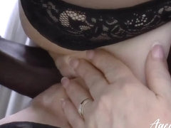 AgedLovE Lacey Starr interracial fuck