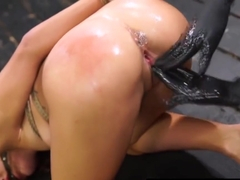 Guy Cums All Over Her Face