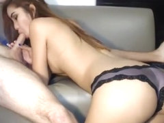Horny Latin Babe toying her Creamy Cunt