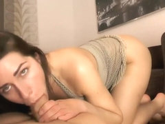 Girl Is Masturbating In Front Of Her Man